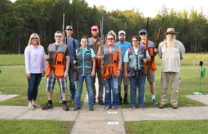 National Park College shooting team
