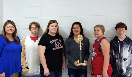 Caddo Hills Quiz Bowl qualifies for 1A state finals