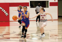 Caddo Hills v Mountain Pine basketball