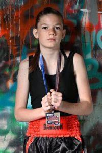 Sally Davison boxer