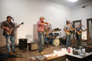 Hayden Powell and the Caddo Cowboys