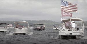 Sarah Huckabee Sanders boat parade